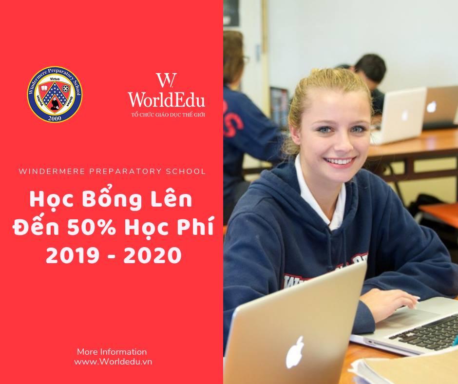 Cơ Hội Nhận Học Bổng Lên Đến 50% Học Phí Năm Học 2019 - 2020