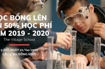 Cơ hội nhận học bổng 10% - 50% học phí năm học 2019 - 2020